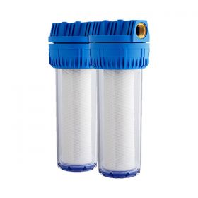 Double Mains Water Filter Interwater D10